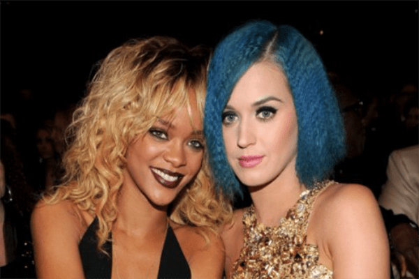 Celebrity Female Best Friends Katy Perry and Rihanna