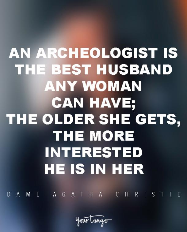 Dame Agatha Christie marriage quote