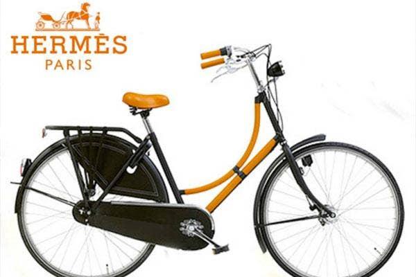 Hermes bicycle