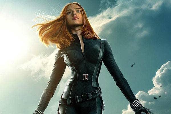 Scarlett Johansson as Black Window in Marvel's 'The Avengers'