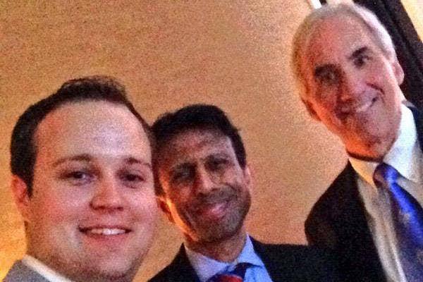 Josh Duggar Bobby Jindal and David Limbaugh