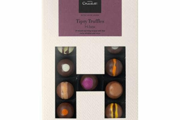 boozy truffles treat