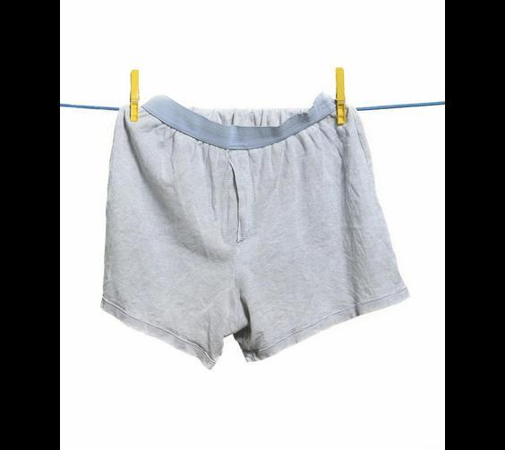 Drying Your Hair In Boxers