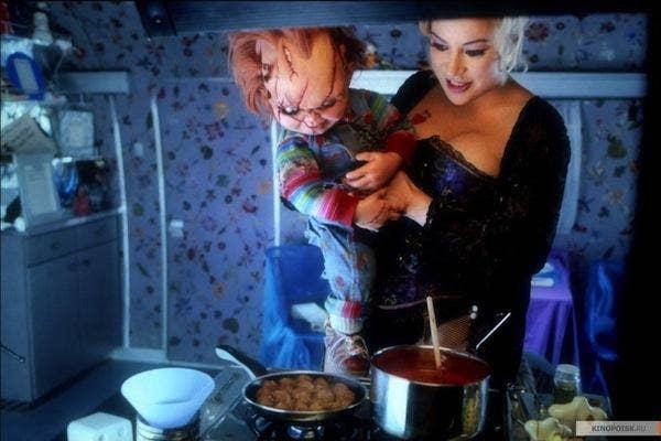 Jennifer Tilly from Bride of Chucky