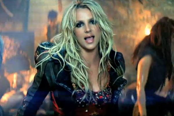 Britney Spears in I Wanna Go