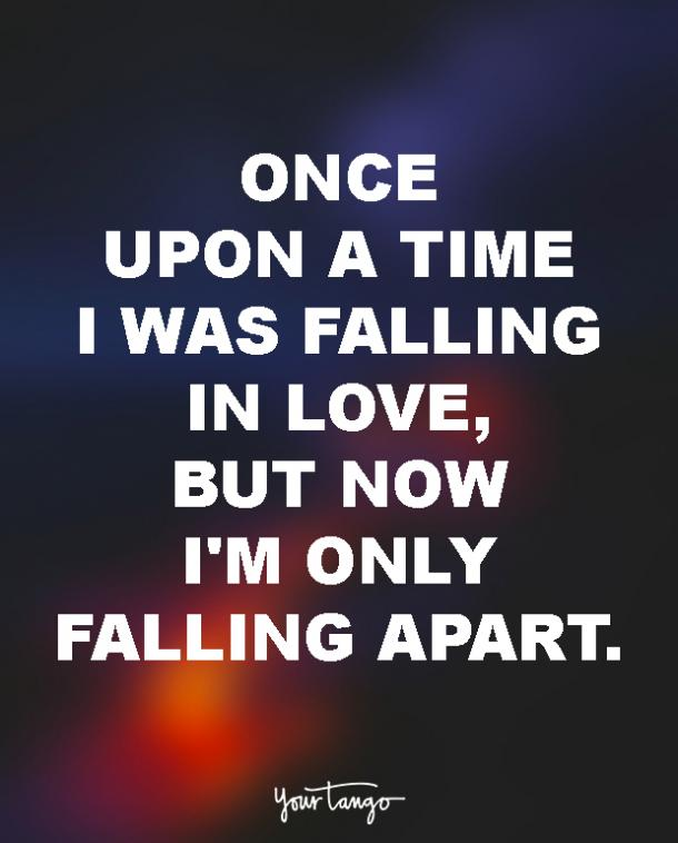 60 Sad Love Quotes For The BrokenHearted YourTango Impressive Rasta Love Quotes For My Girlfriend