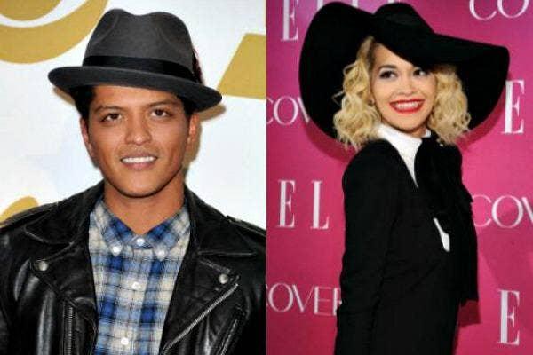 Bruno Mars & Rita Ora