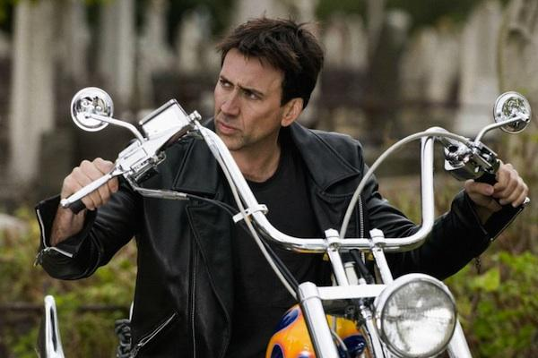 Nicolas Cage from Ghost Rider