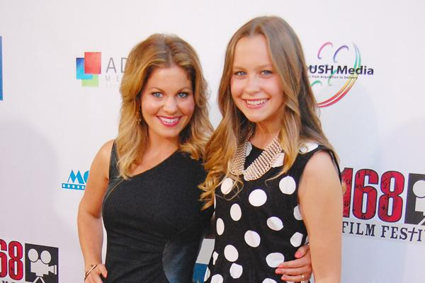 candace cameron full house daughter