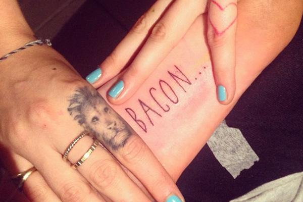 cara delevigne tattoo