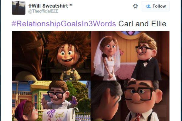 9. Carl and Ellie.