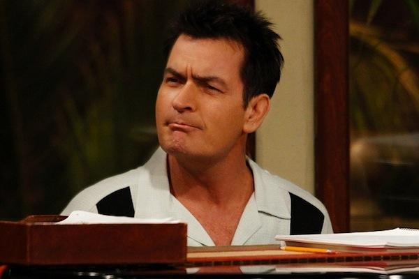 Charlie Sheen from Two and a Half Men
