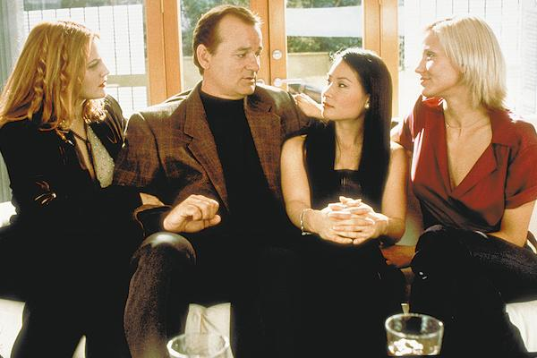 Lucy Liu and Bill Murray from Charlie's Angels