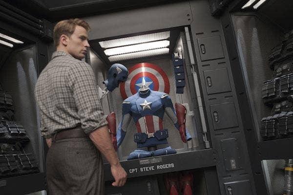 Chris Evans from Marvel's The Avengers