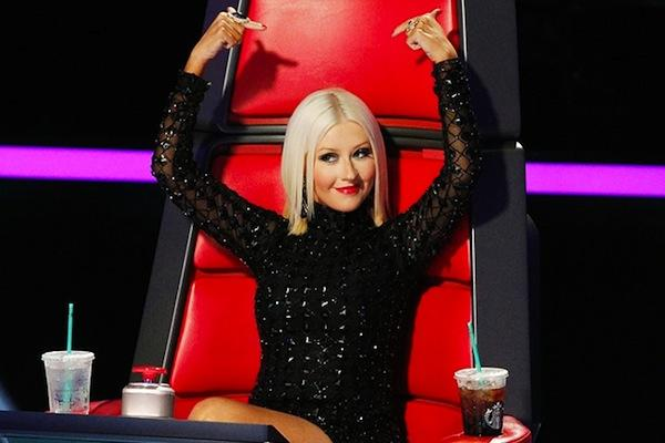 Christina Aguilera from The Voice christina aguilera lady gaga feud christina aguilera bionic