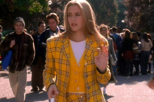 Alicia Silverstone as Cher Horowitz from Clueless
