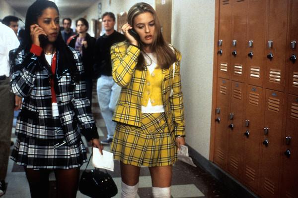 Stacey Dash as Dionne and Alicia Silverstone as Cher Horowitz from Clueless