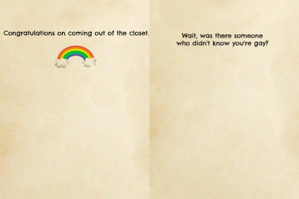 3. Coming Out Of The Closet