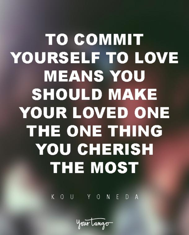 Inspiring Love Quotes About Commitment In Relationships