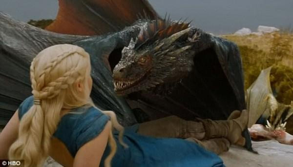 Drogon snaps.