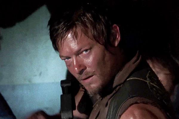 Norman Reedus as Daryl Dixon on The Walking Dead AMC