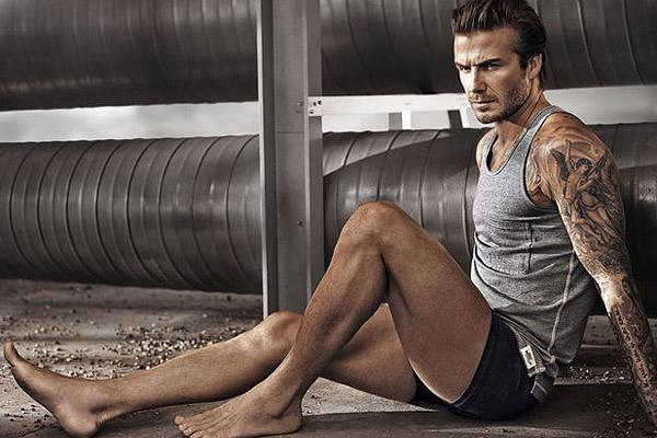david beckham underwear legs