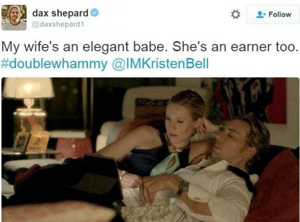 8. Dax Shepard and Kristen Bell