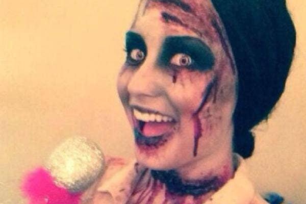 Demi Lovato zombie Halloween costume