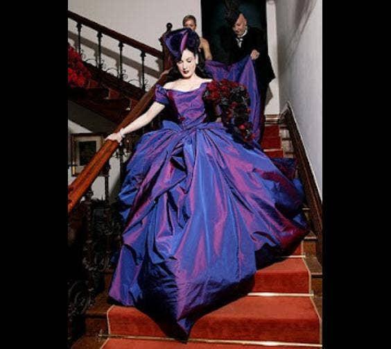 Dita Von Teese's Dress