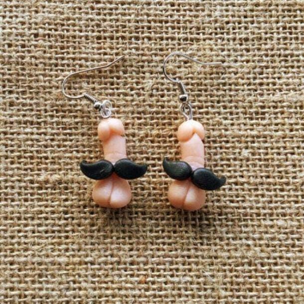 penis earrings
