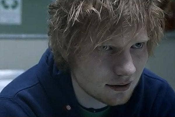 ed sheeran, ed sheeran small bump, ed sheeran video, ed sheeran music video