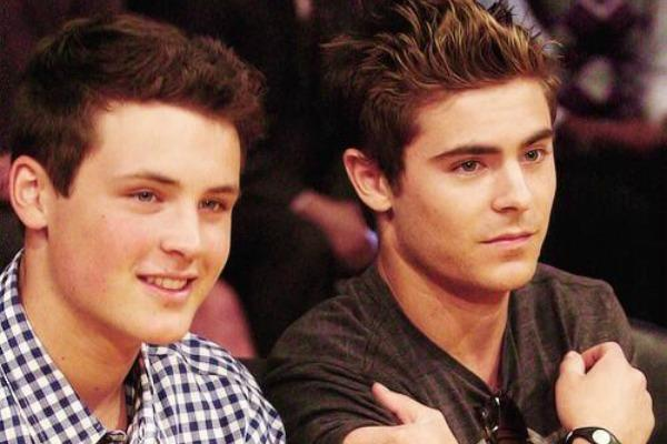 Zac Efron and Dylan Efron