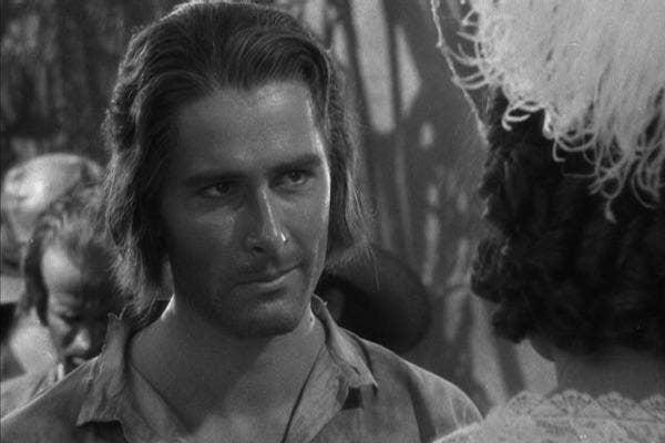Errol Flynn in Captain Blood