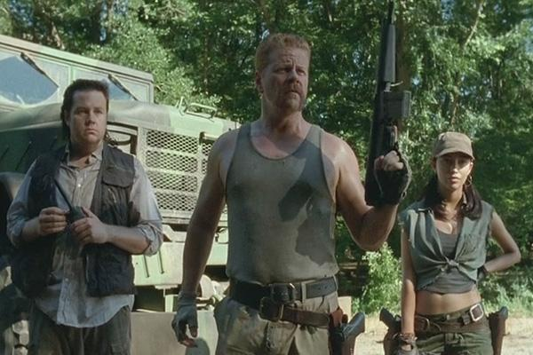 AMC The Walking Dead Eugene Porter Abraham Ford Rosita Josh McDermitt Michael Cudlitz Christian Serratos