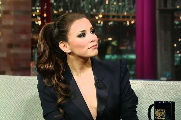 Eva Longoria from The Late Show with David Letterman