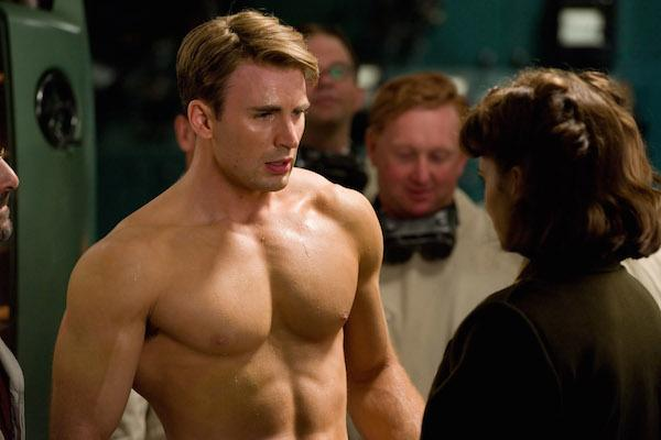 Chris Evans from Captain America: The First Avenger