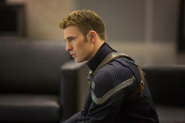 Chris Evans from Captain America: The Winter Soldier