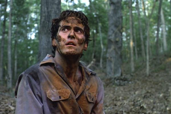 Bruce Campbell from The Evil Dead 2