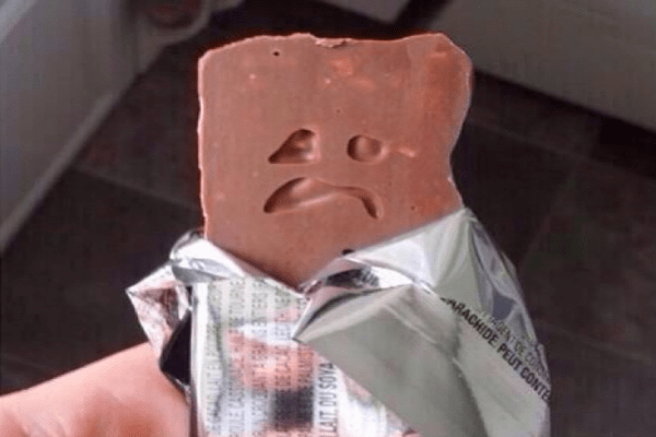 Candybar face