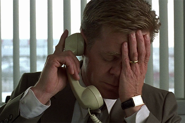 William H Macy as Jerry Lundegaard in 'Fargo'