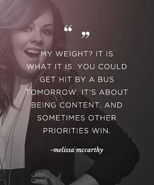 melissa mccarthy quote
