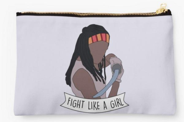 Feminist gifts: Fight Like Michonne pouch