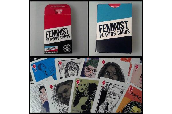 Feminist gifts: Feminist playing cards