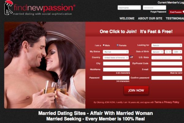 Adult cheating website