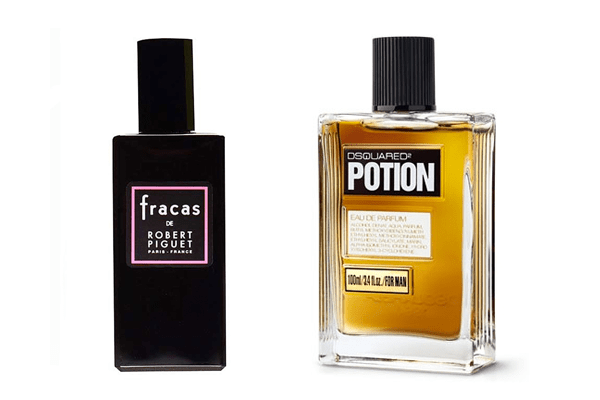 Fracas by Robert Piguet and DSQUARED2 Potion