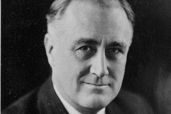 Franklin Roosevelt from Wikimedia