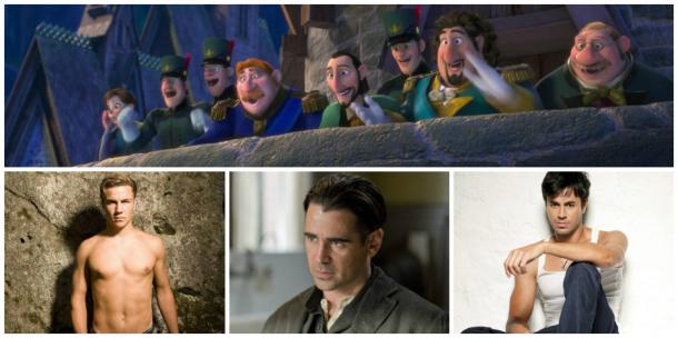 Foreign dignitaries (from Germany, Ireland and Spain) in Disney's 'Frozen' and Colin Farrell, Enrique Iglesias and Mario Gotze