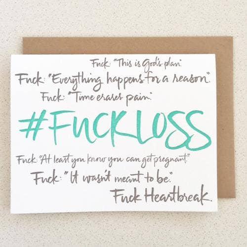 """2. """"Fuck Loss"""""""