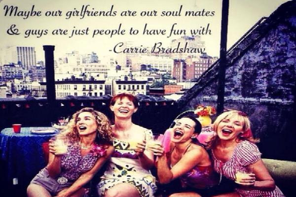 Friends are our soulmates sex and the city
