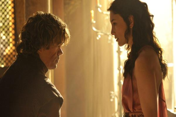 Tyrion and Shae of Games Of Thrones